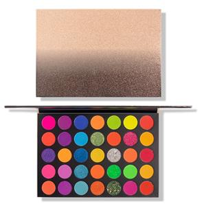 35 Colors Professional Neon Eyeshadow Palette