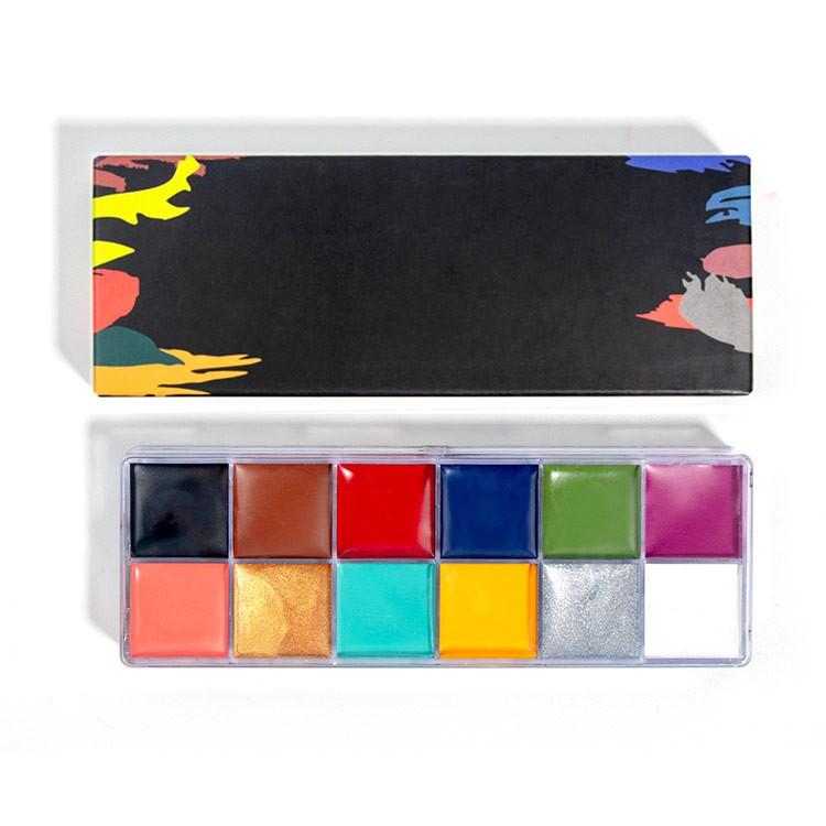 Private Label Professional Face Paint Palette