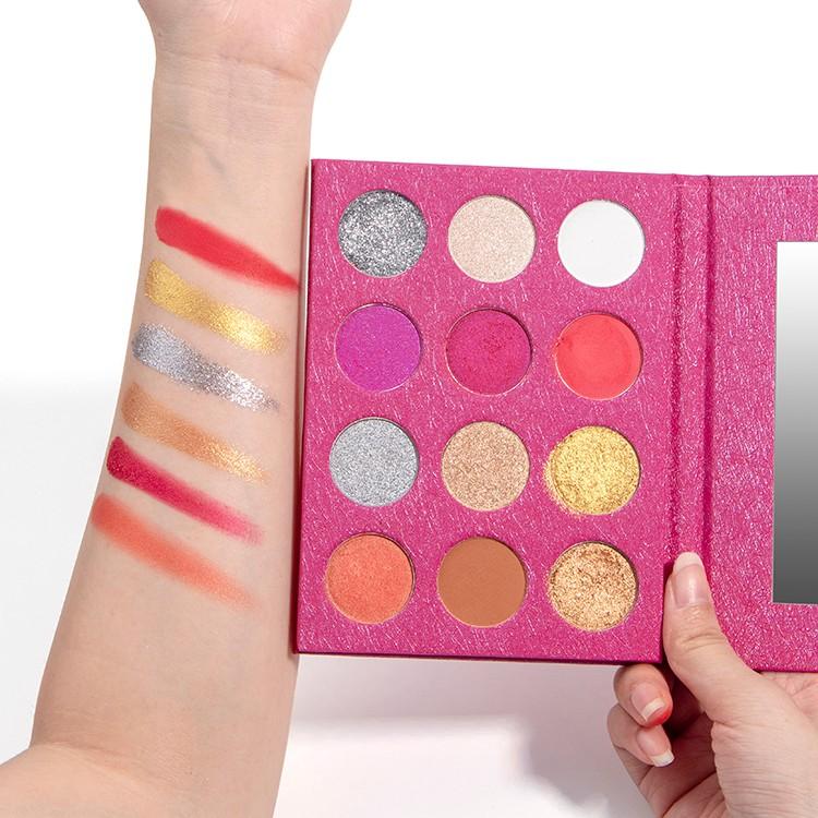 Professional Custom Shimmer Eyeshadow Palette Manufacturers, Professional Custom Shimmer Eyeshadow Palette Factory, Supply Professional Custom Shimmer Eyeshadow Palette