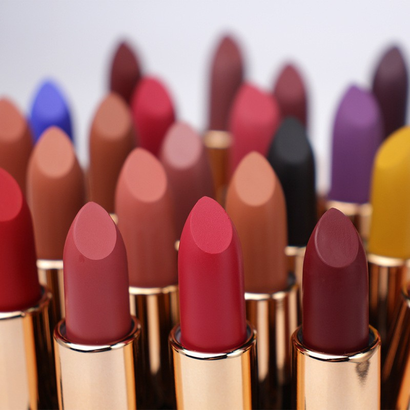 Matte Luxury Lipstick Without Label Manufacturers, Matte Luxury Lipstick Without Label Factory, Supply Matte Luxury Lipstick Without Label