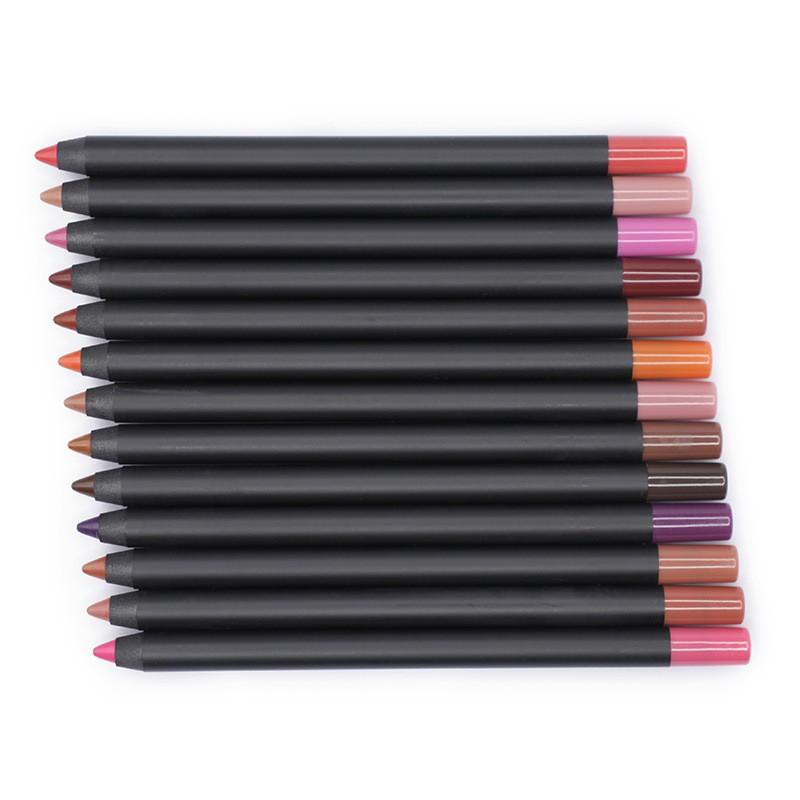 Vegan Waterproof Makeup Lip Liner Pencil