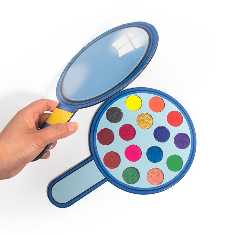 eyeshadow palette pigmented