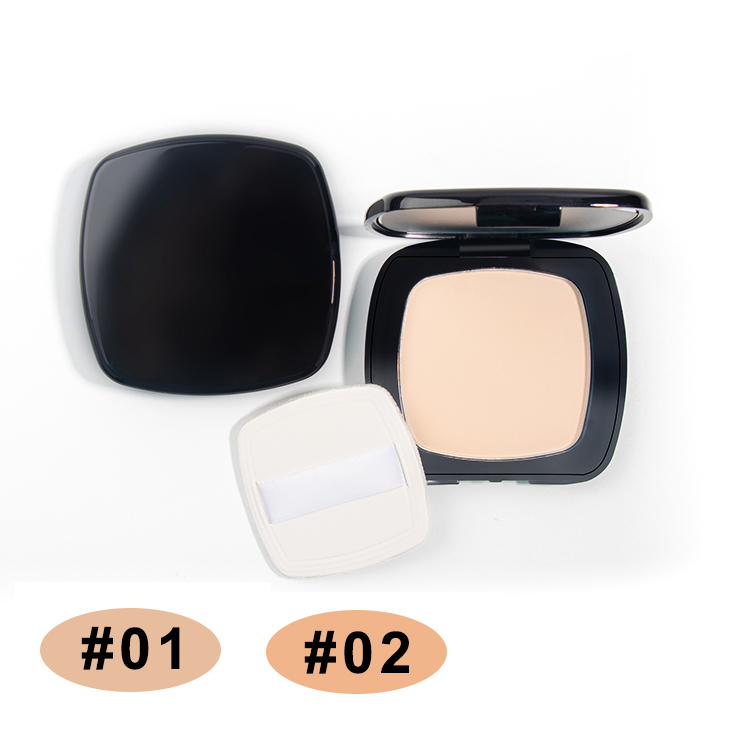 Square Pressed Soft Creamy Powder Compact Makeup Private Labeling