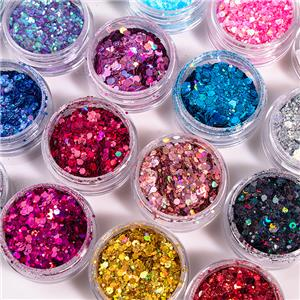 Low Moq High Quality Makeup Loose Glitter Private Label With 20 Colors