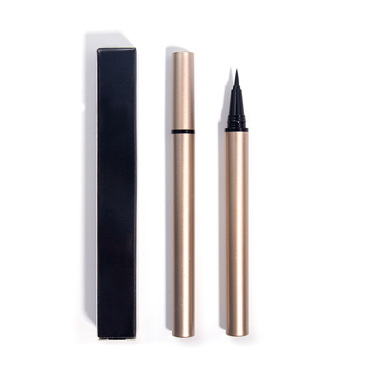 Private Label New Arrival Waterproof Makeup Vegan Eyeliner Pencil In Gold