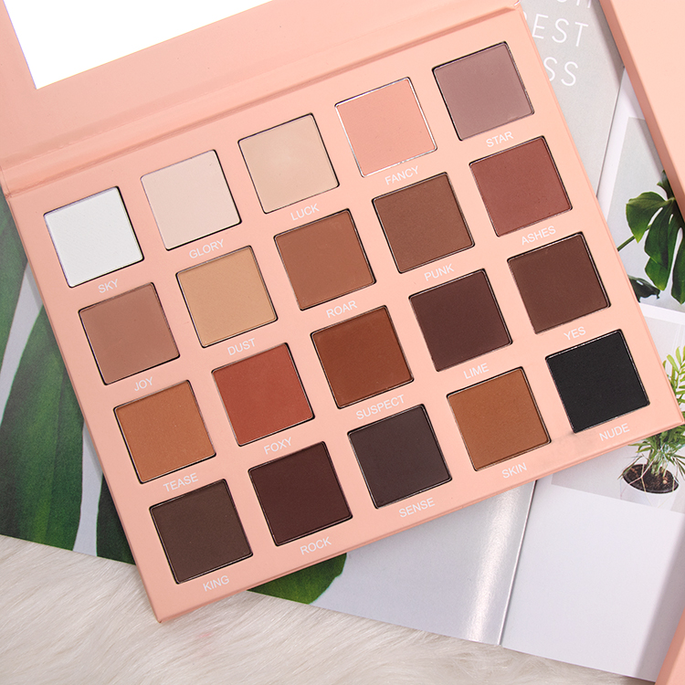 20 Colors Popular Nude Matte Eyeshadow Palette Private Label Manufacturers, 20 Colors Popular Nude Matte Eyeshadow Palette Private Label Factory, Supply 20 Colors Popular Nude Matte Eyeshadow Palette Private Label