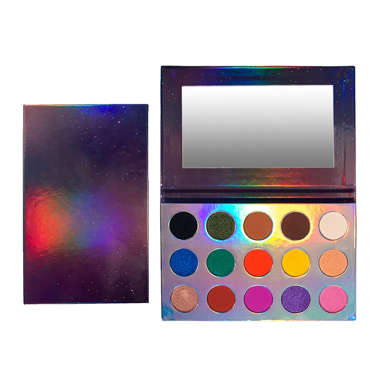Unique High Pigmented holographic eyeshadow palette