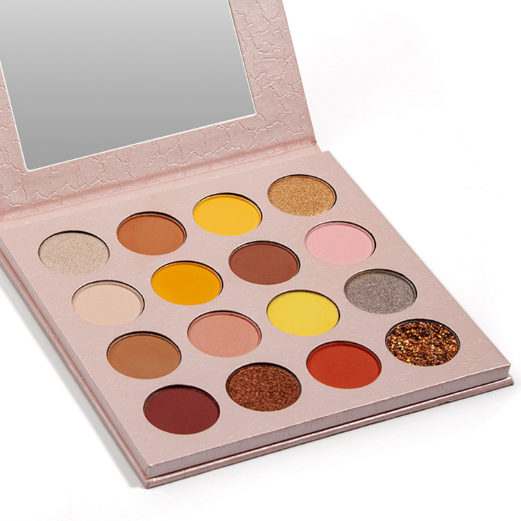16 Color New Pink Neutral Luxury Cruelty Free Makeup Eyeshadow