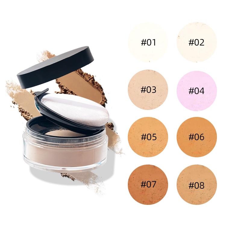 New Trending High Quality Waterproof Loose Makeup Setting Powder