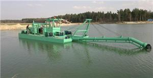 Water Injection Jet Suction Sand Dredger