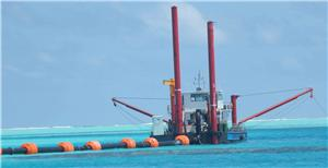 Ocean Reclaimation Cutter Suction Dredger