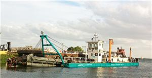 Dredging Equipment For Ocean Reclamation
