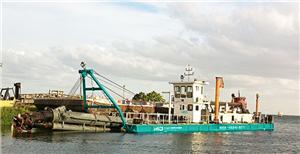 Équipement de dragage pour la remise en état des océans