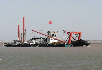HID 5522P Cutter Suction Dredger Delivery