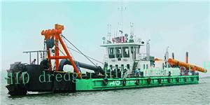 Bucket Wheel Suction Dredger