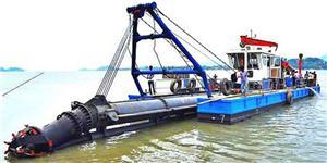 Mașină de tocat cu aspirație pentru debitare pentru râuri și lacuri