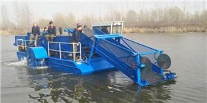 Weed Harvester & Salvage Boat For Port And River