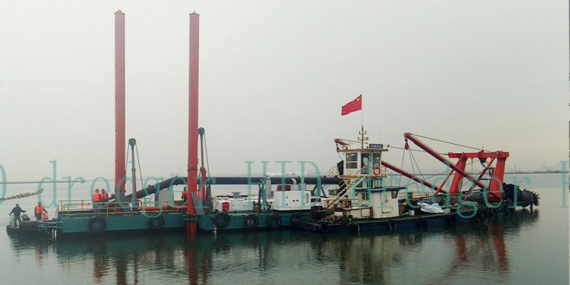 22 Inch High Quality HID Cutter Suction Dredger