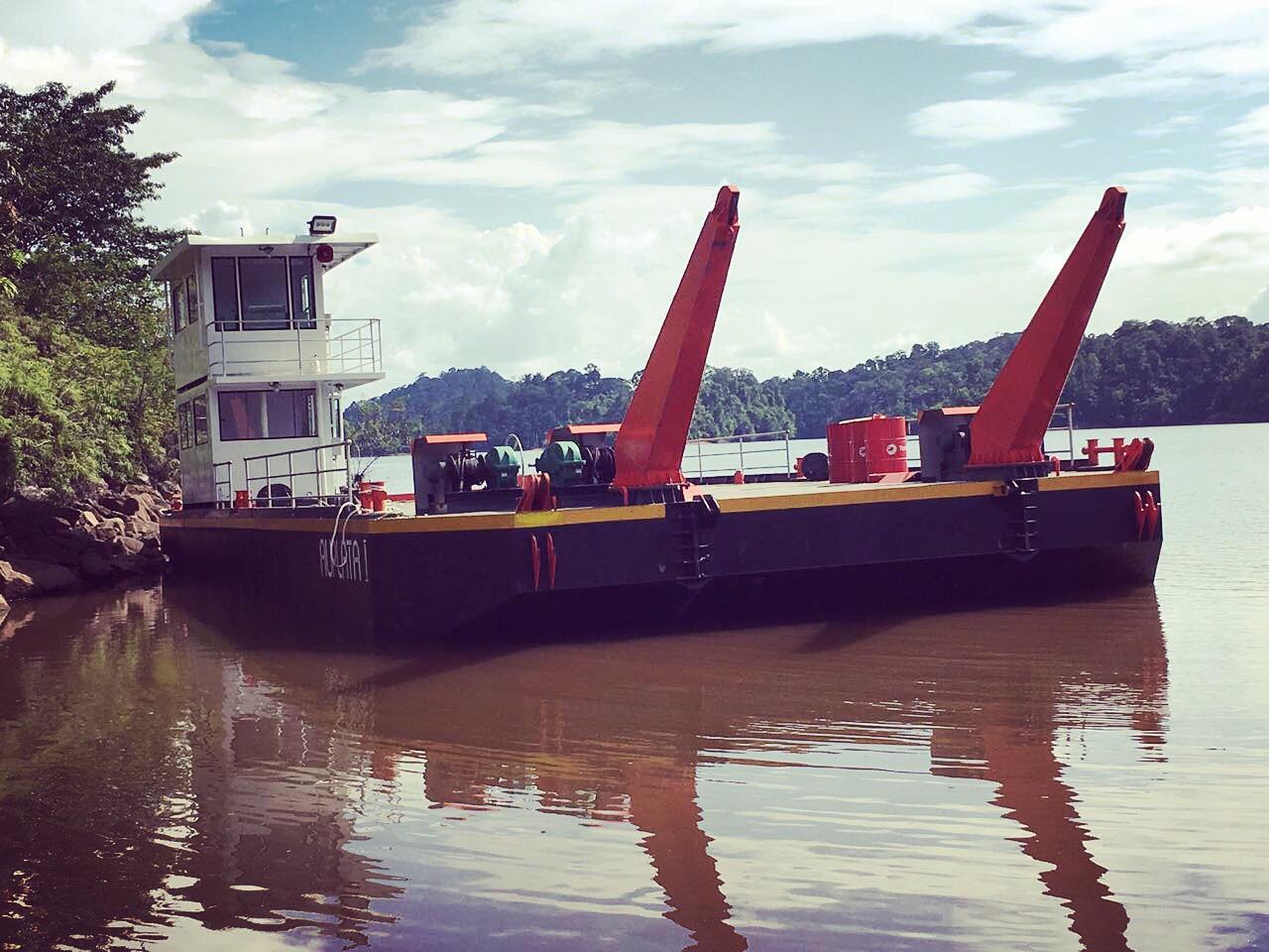 logistic barge