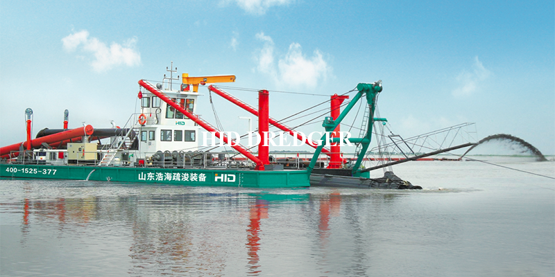 20inch 4000m3/h Cutter Suction Dredger for Maldives Land Reclamation Project