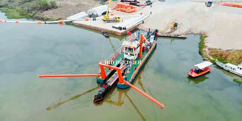 Large Capacity 26inch 6000m3/h Cutter Suction Dredger Dredging Equipment/River Sand Mining