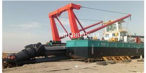 Kapal pengorek pemotong 3000m3 / H untuk pengorekan pasir jalan air dalam