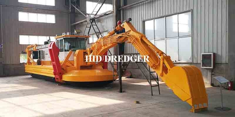 in Stock Multifunctional Amphibious Dredger for sale