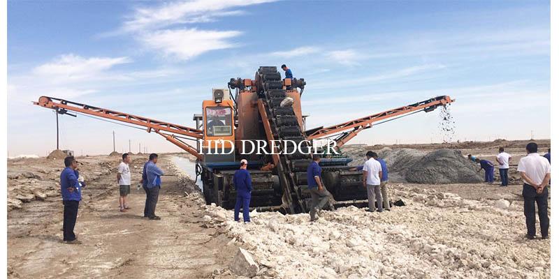 salt dredger