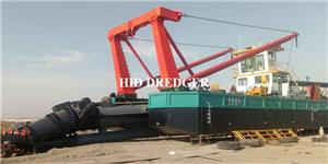 4000 me/h cutter suction dredger
