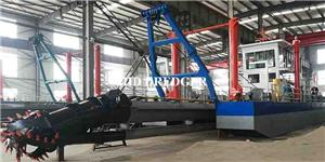 2500m3/h cutter suction dredger for lake&river dredging