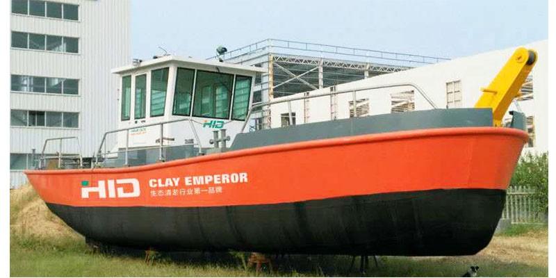 Tunda tunda & kapal kerja untuk kapal korek