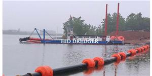 Pemotong Suction Dredger Di Pengorekan Sungai
