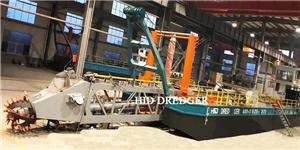 30m dredge depth cutter suction dredger