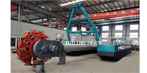 1400m3/h bucket wheel dredger