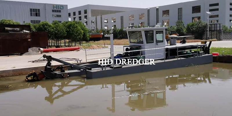 small dredger