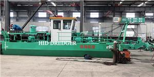 Small capacity 6 inch cutter suction dredger