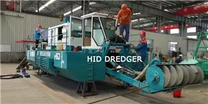 6 inch Suction Dredger for Urban Rivers Dredging