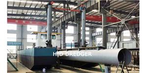 12 inch Cutter Suction Dredger for River&Lake dredging