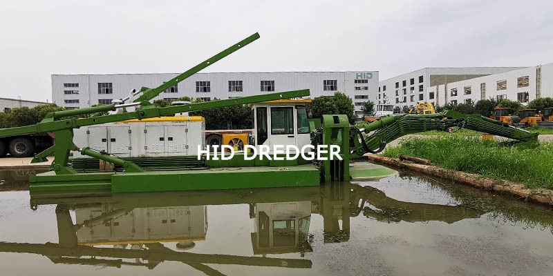 Amphibious Multipurpose Dredger
