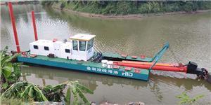 Dragueur d'aspiration de coupeur de 1500m3 / h pour des projets de dragage d'extraction de sable de rivière