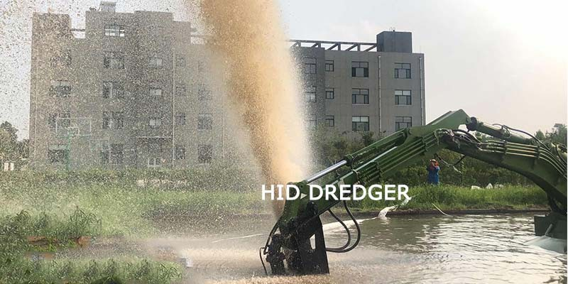 China Amphibious Multipurpose Dredger Work on Land/Water for Sand Mining Factory