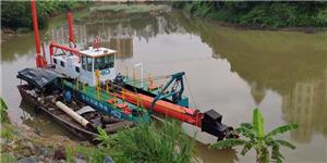 8 inch Cutter Suction Dredger for river dredging