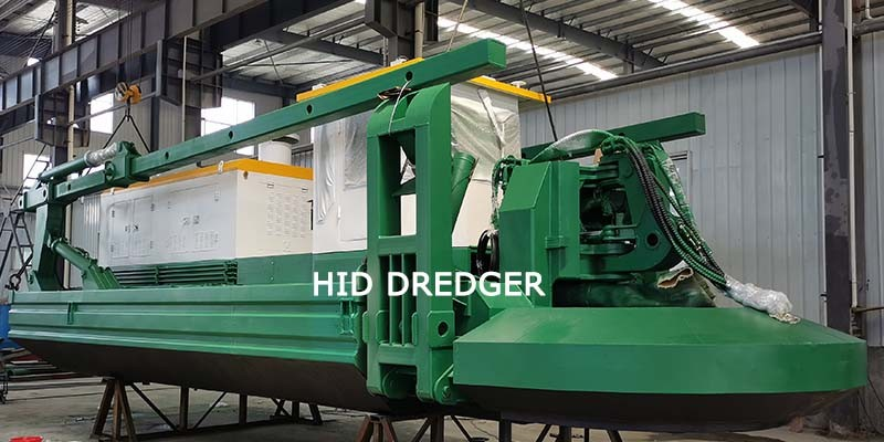 Amphibious Dredger With Water Flow Capacity of 600m3/h