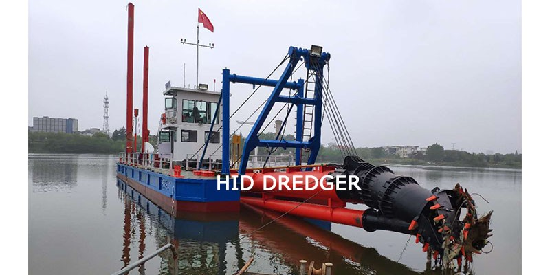 3000 m3/h Cutter Suction Dredger working in Meilong Lake Dredging Project