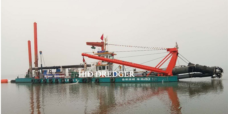 5500 m3/h Cutter Suction Dredger for Lake Desilting and Sand Mining