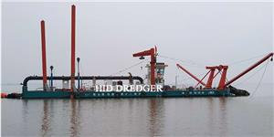 5500 m3/h Cutter Suction Dredger in Suya lake dredging project