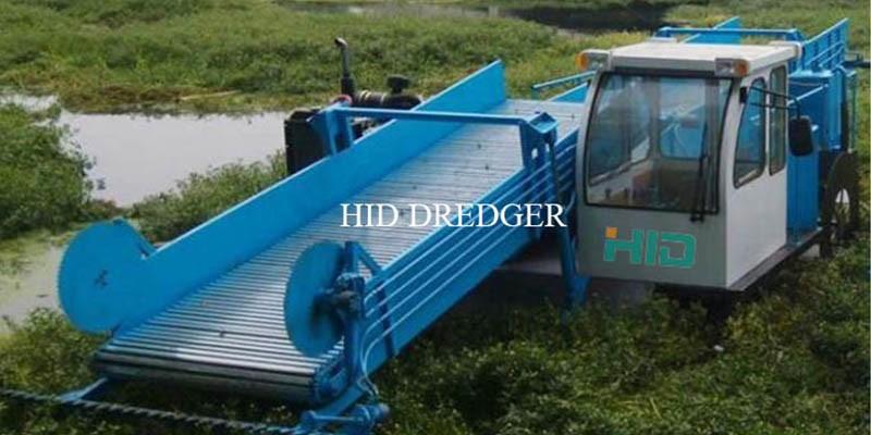Mașină de recoltat buruieni pentru lucrări de curățare a râurilor, lacurilor și iazurilor