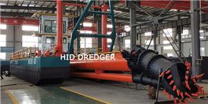 12 Inch Cutter Suction Dredger untuk projek pengorekan sungai