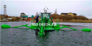 Drague multifonctionnelle amphibie pour travaux de dragage de boue
