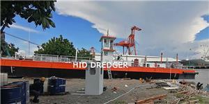 Drague d'aspiration de coupe de 16 pouces pour les travaux de dragage de port